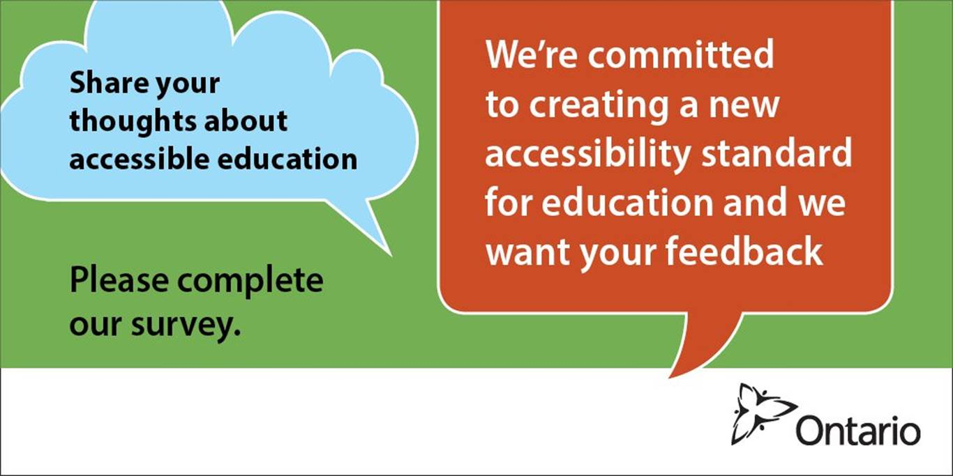 Survey will help to improve accessibility in Ontario