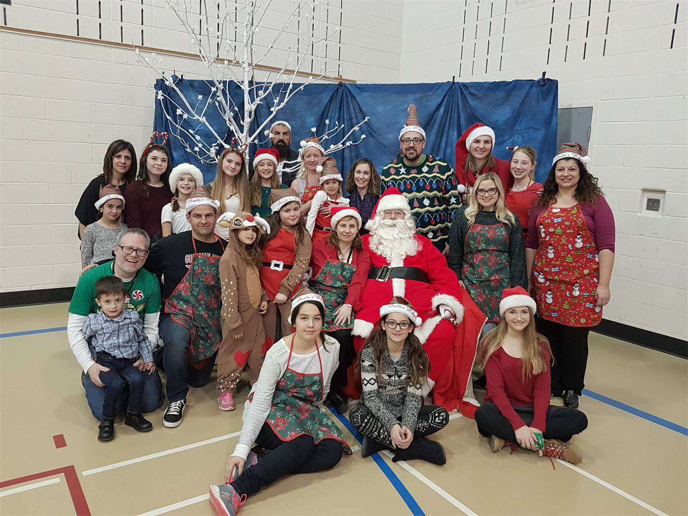 Breakfast With Santa Brings Guardian Angels Catholic Community Together